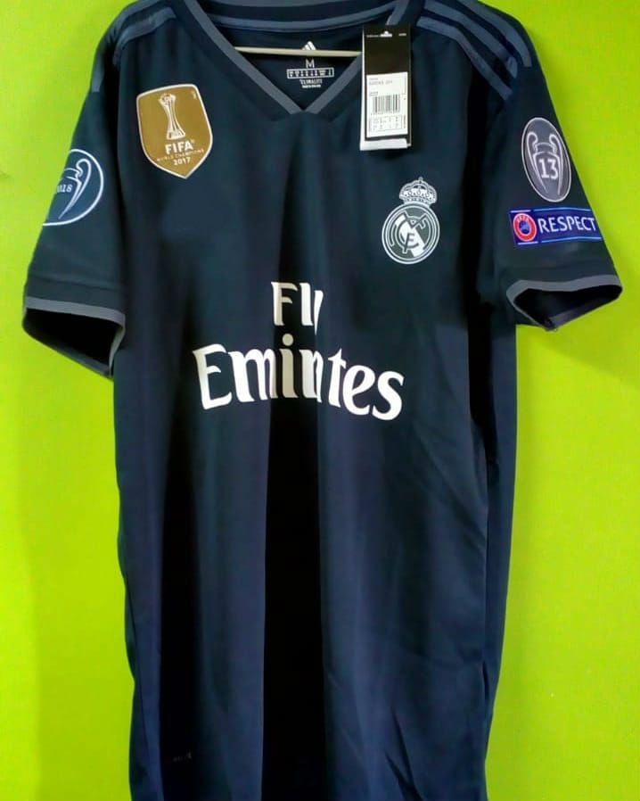 the best attitude 67274 77c18 Marcelo Real Madrid Away Jersey 2018/19