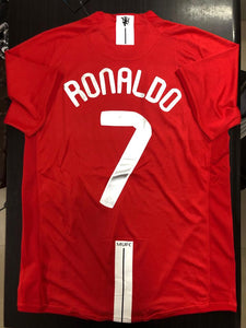 competitive price 50778 a3f9c Manchester United CR7 2007-08 UCL Final Jersey | Football ...
