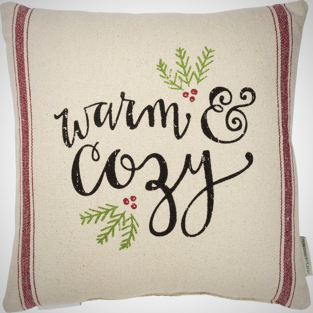 "Warm & Cozy Pillow - 15"" x 15"""