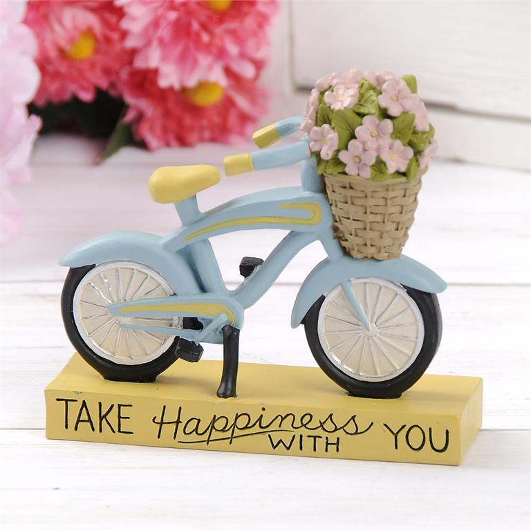 Take Happiness With You Bicycle - Spring Blossoms Collection