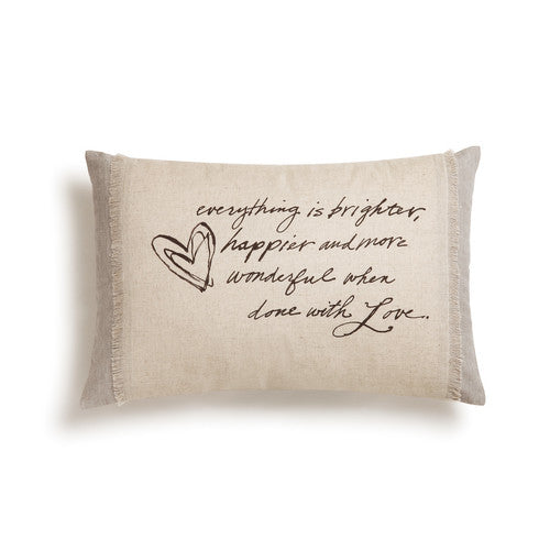 EVERYTHING IS LOVE Throw Pillow
