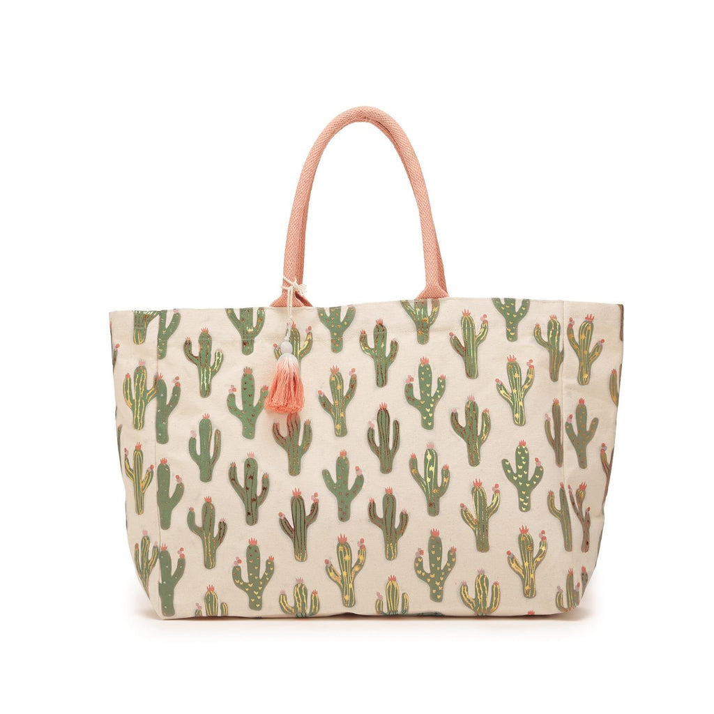 LOOKING SHARP Cotton Canvas Tote - 3 Colors