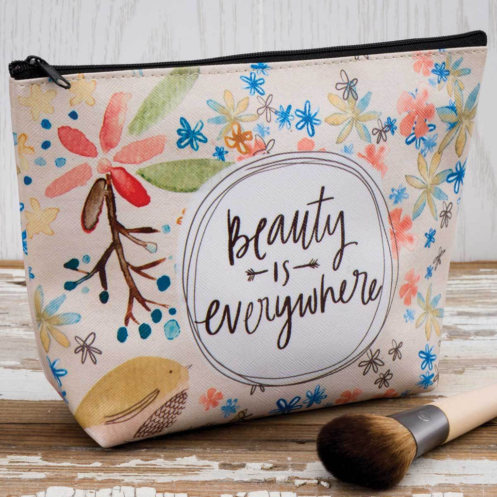 BEAUTY IS EVERYWHERE Cosmetic Bag