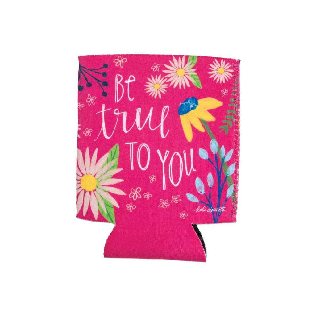 """Be True To You"" Drink Sleeve w/Pocket"