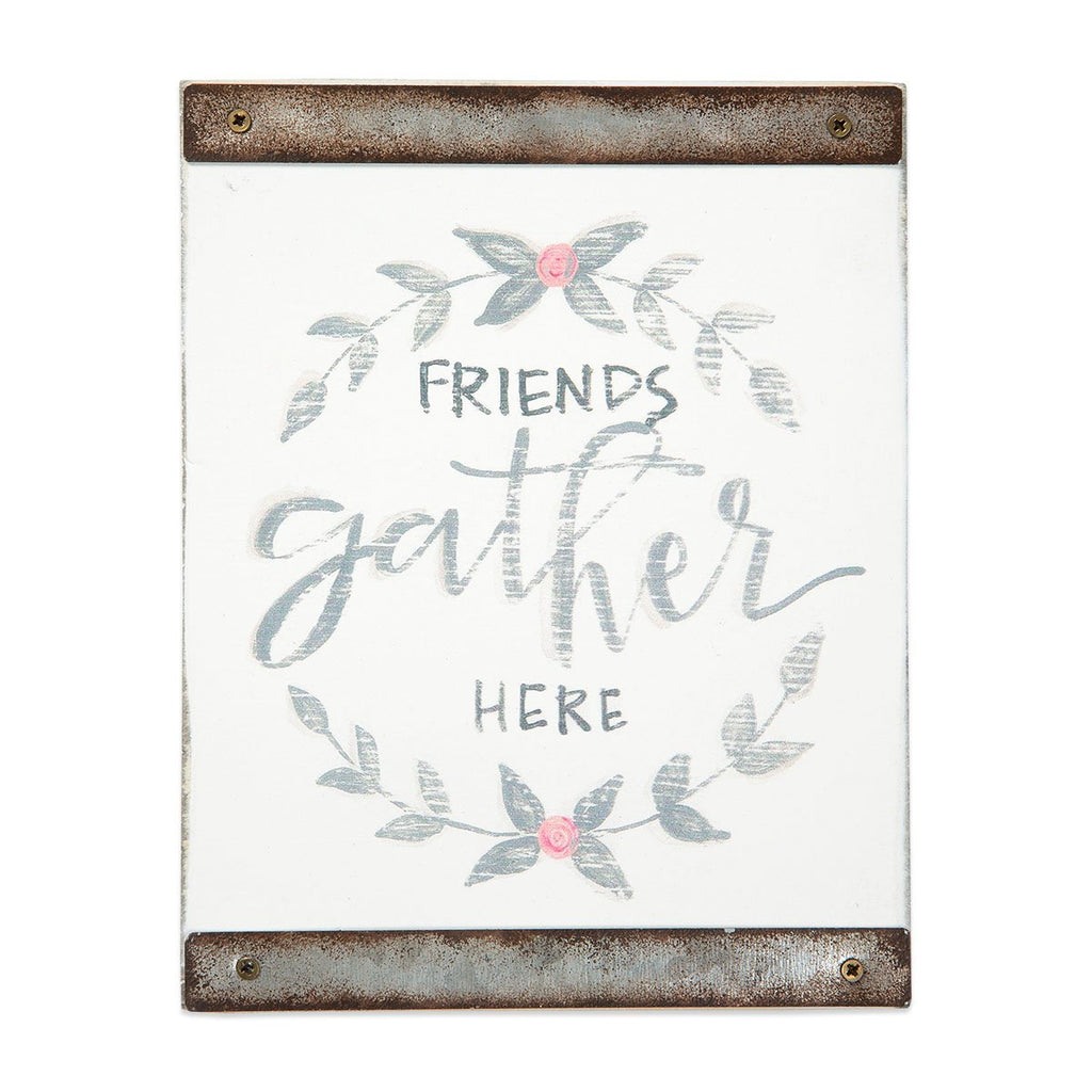 FRIENDS GATHER HERE Sentiment Block
