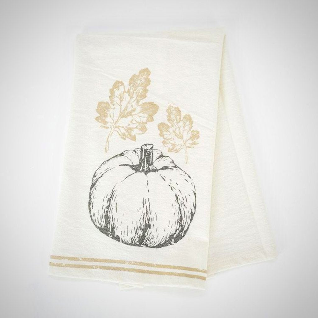 """Pumpkin"" Tea Towel -24"" x 17"""