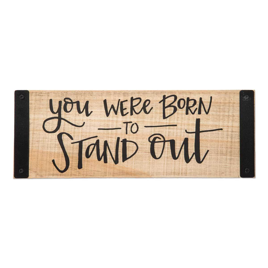STAND OUT Sentiment Block