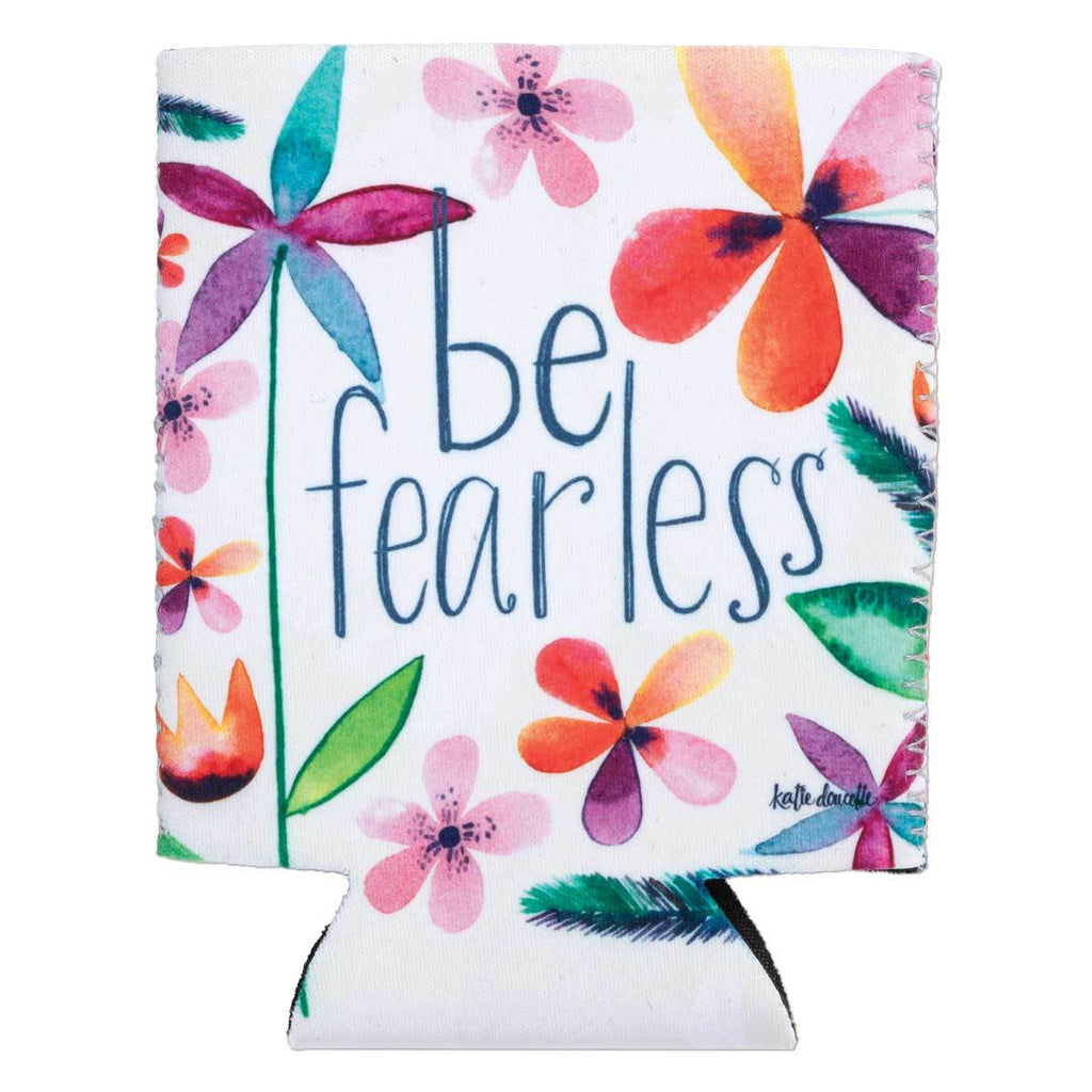 """Be Fearless"" Drink Sleeve w/Pocket"