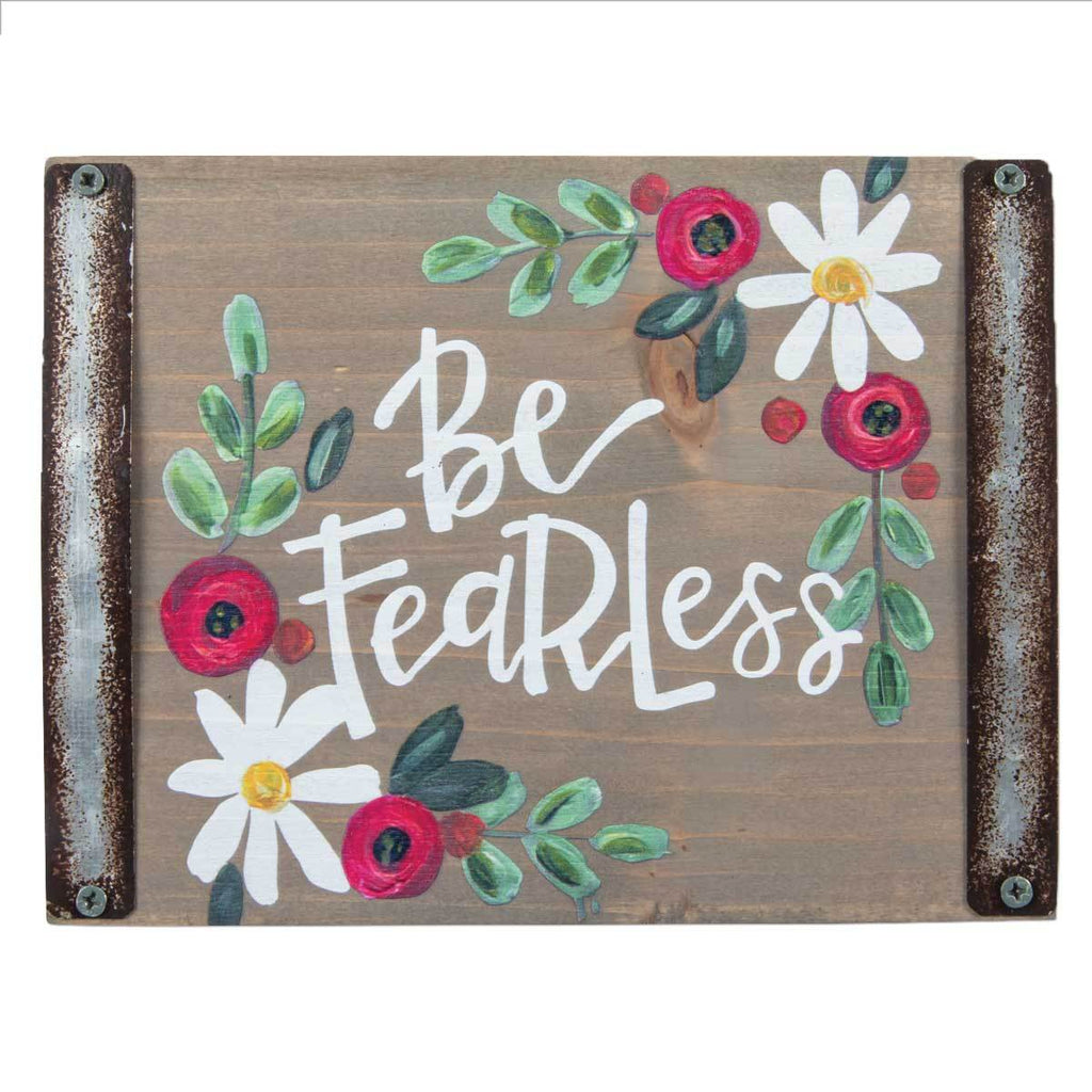 BE FEARLESS Sentiment Block