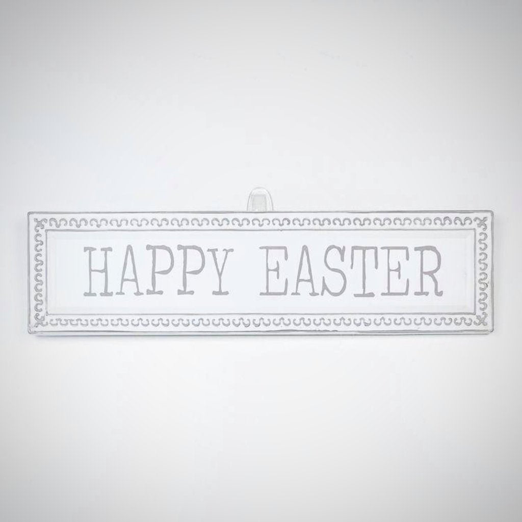 Happy Easter Metal Sign - 18.25""