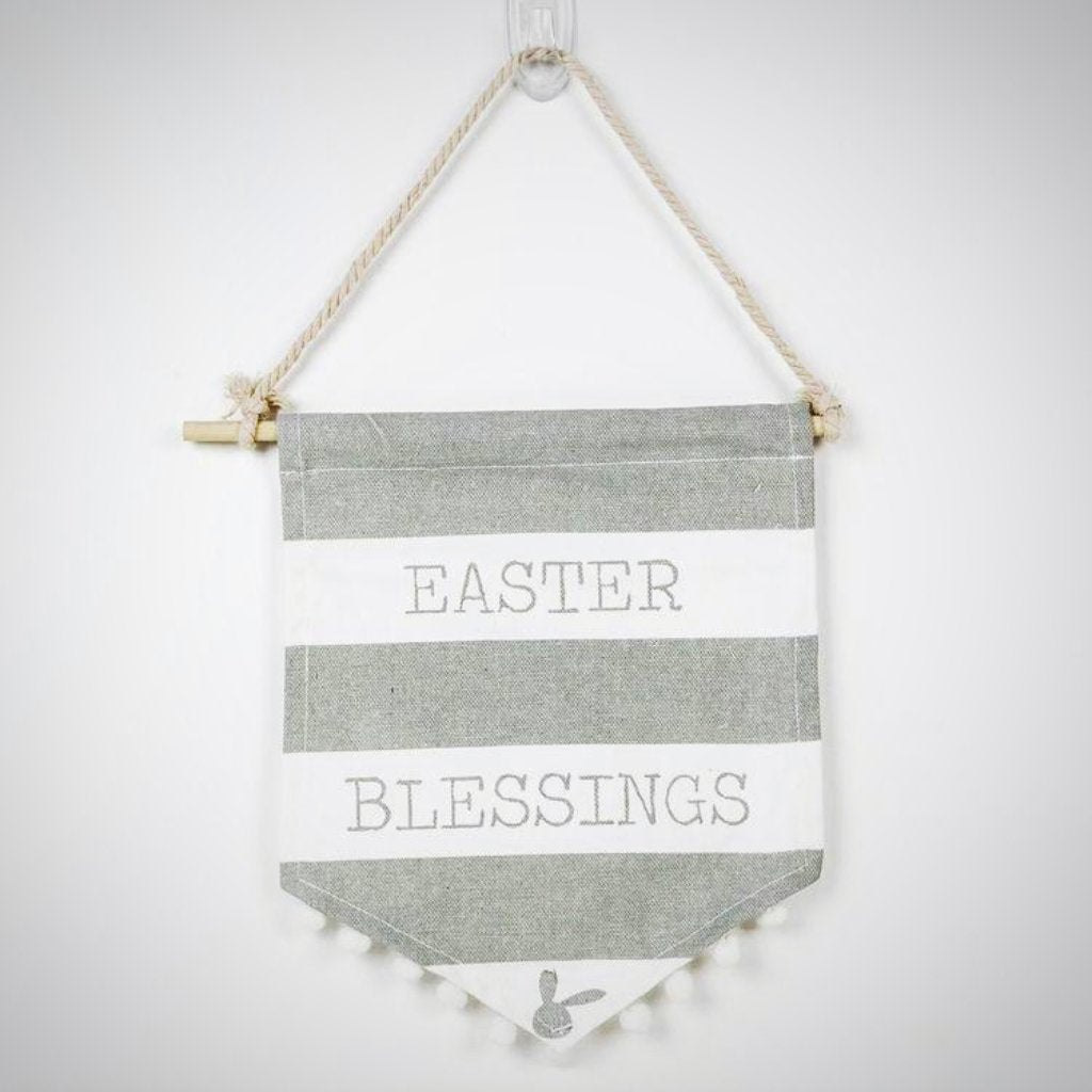Easter Blessings Canvas Banner