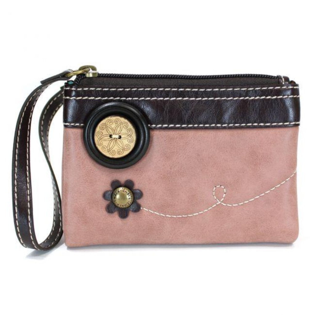 Double Zip Wallet/Wristlet - 5 Color Options