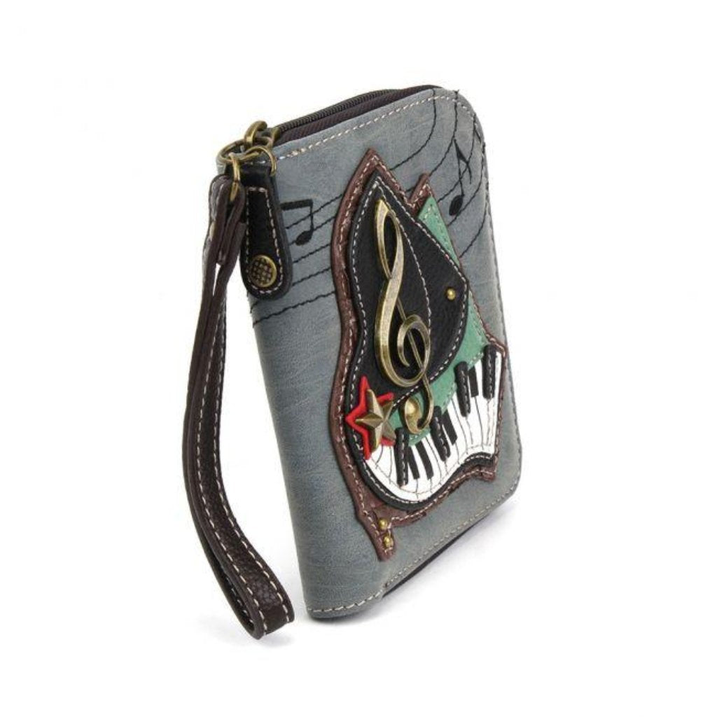 Chala Zip Around Wallet/Wristlet - Piano