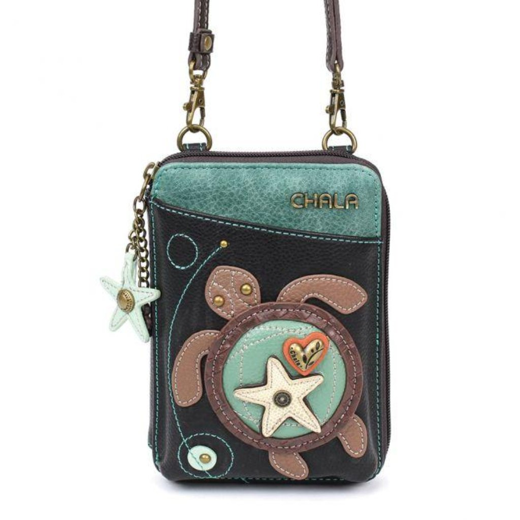 Crossbody Wallet - Sea Turtle