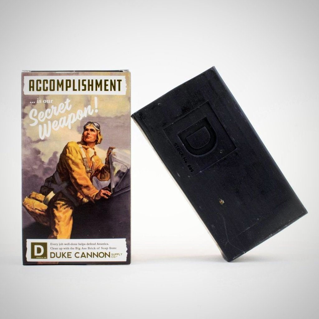 Accomplishment - WWII Era Big A** Brick of Soap