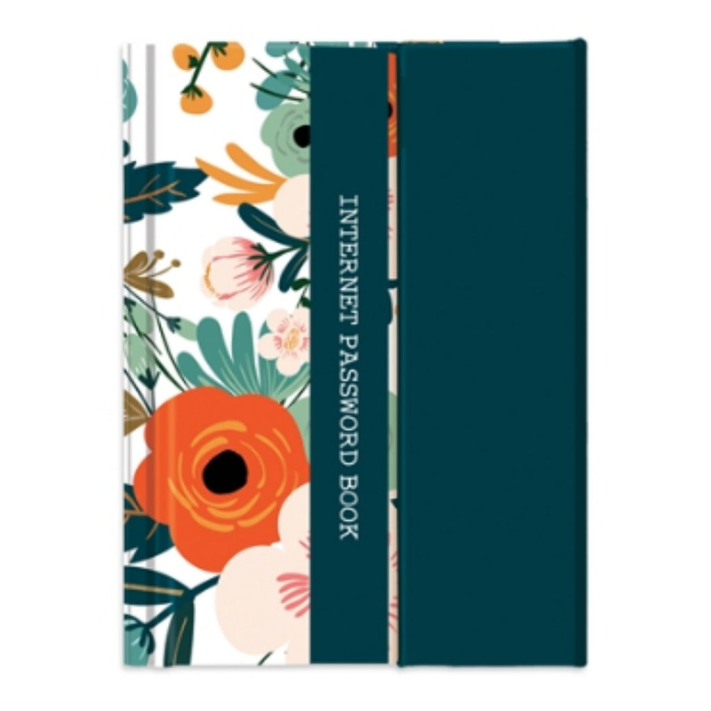 Internet Password Book - Antique Floral