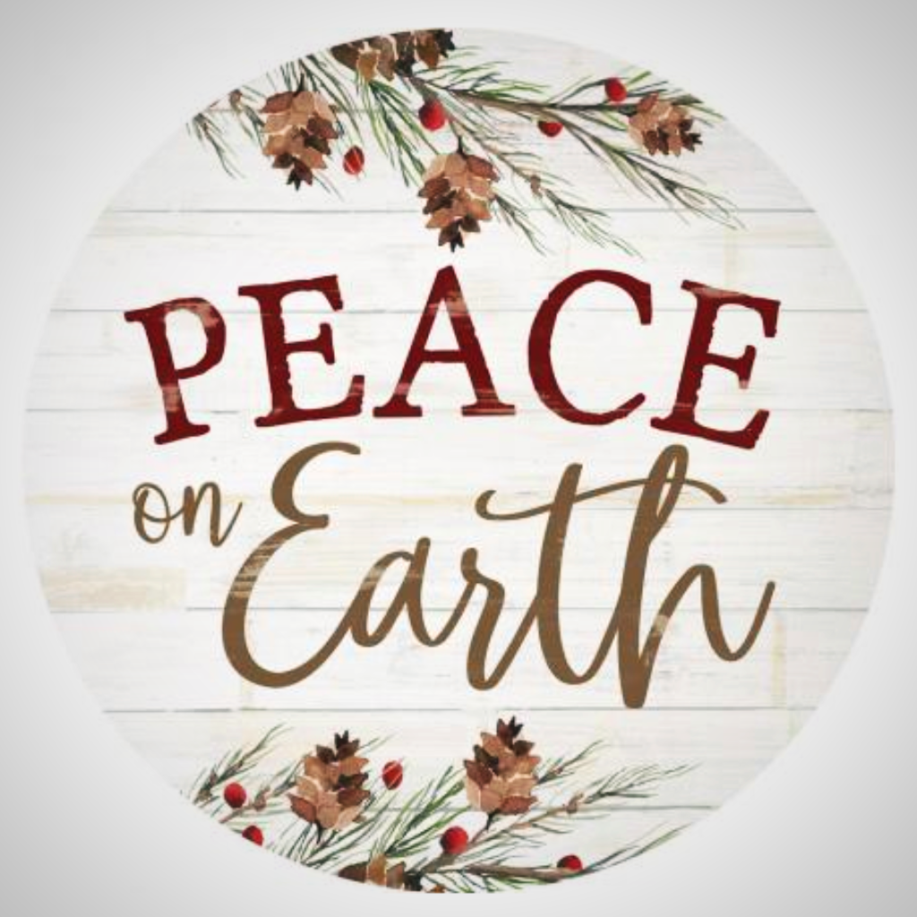 "Peace On Earth - 17"" ""Barrel Top"""