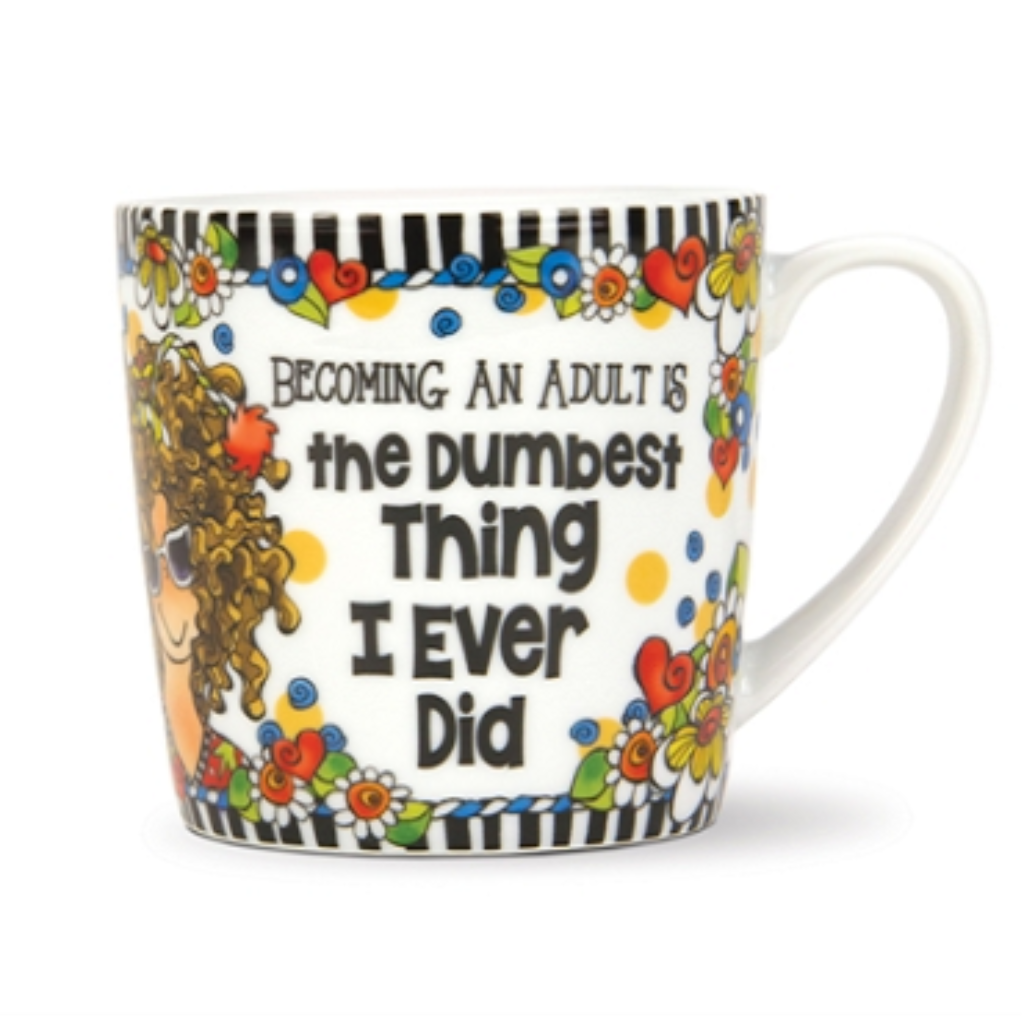 Becoming An Adult Mug (Suzy Toronto)