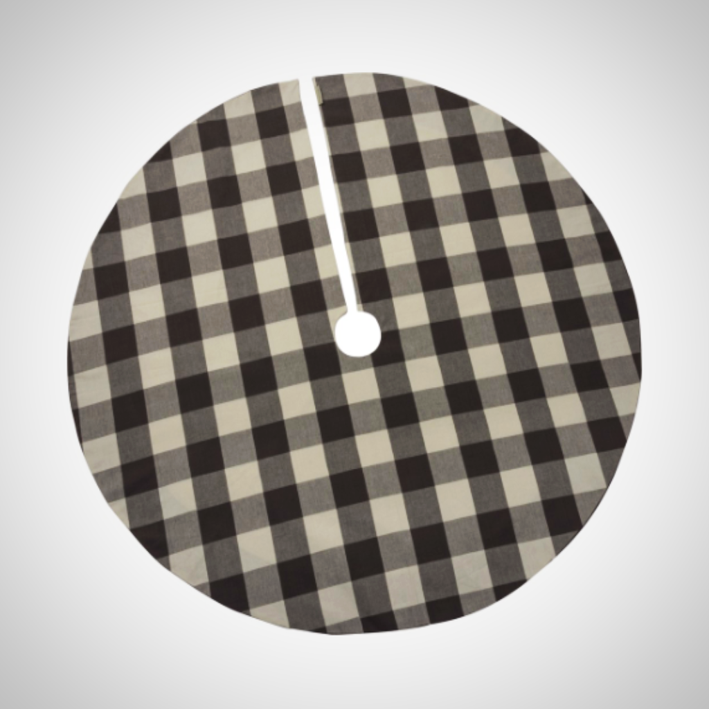 Buffalo Check Tree Skirt - 52""