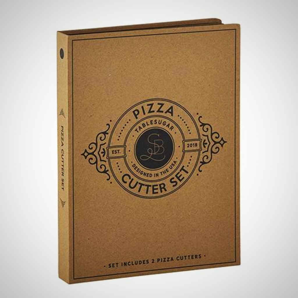 Pizza Cardboard Book Set