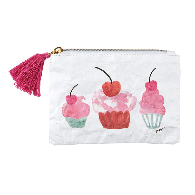 CUPCAKES Tyvek Coin Purse