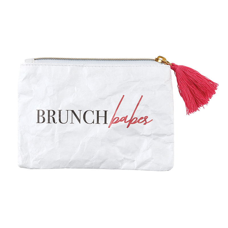 BRUNCH BABES Tyvek Coin Purse
