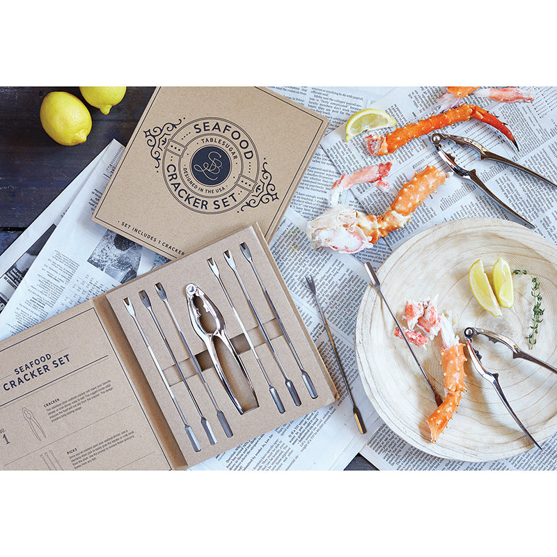 Seafood Cardboard Book Set