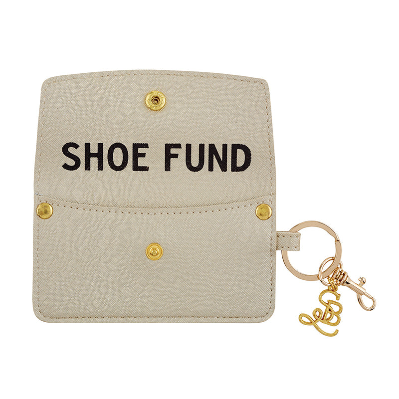 SHOE FUND Credit Card Pouch