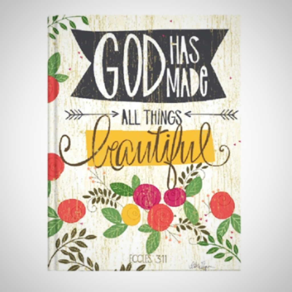 "Casebound Journal - ""All Things Beautiful"""