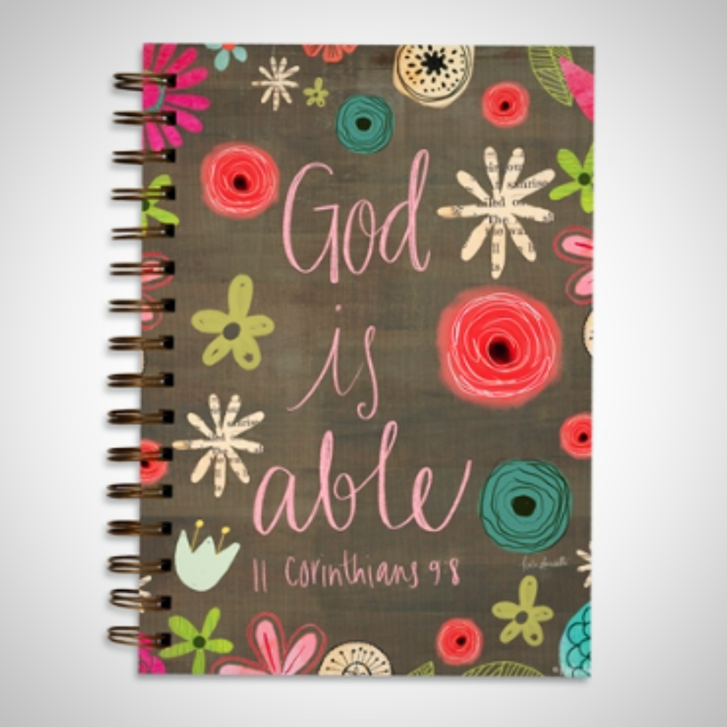 "Wire Bound Journal - ""God Is Able"""