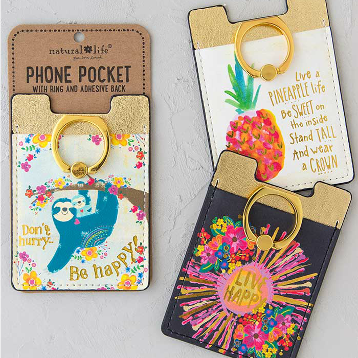 Phone Pocket Rings by Natural Life (15 Styles)