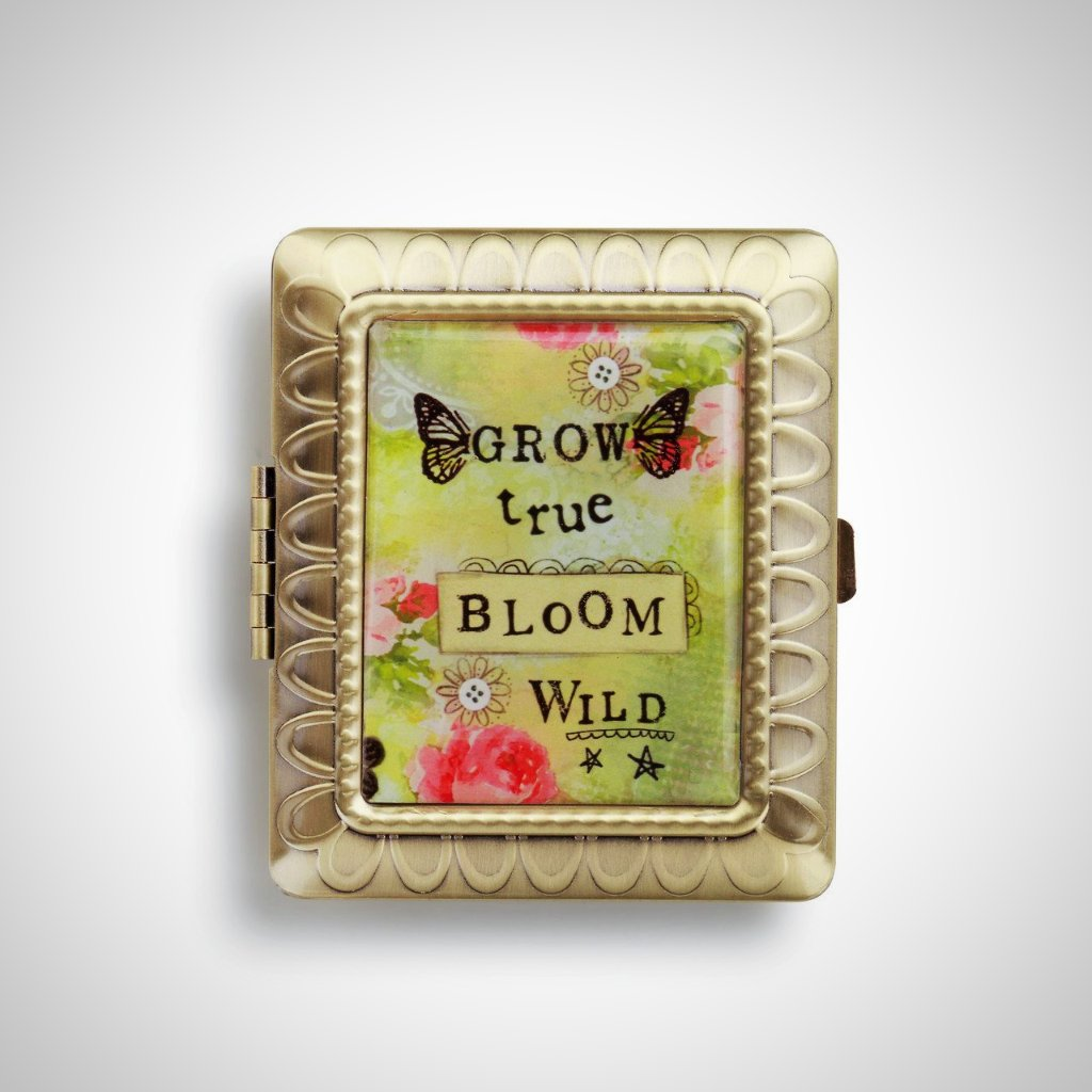 GROW TRUE-BLOOM WILD Compact Mirror