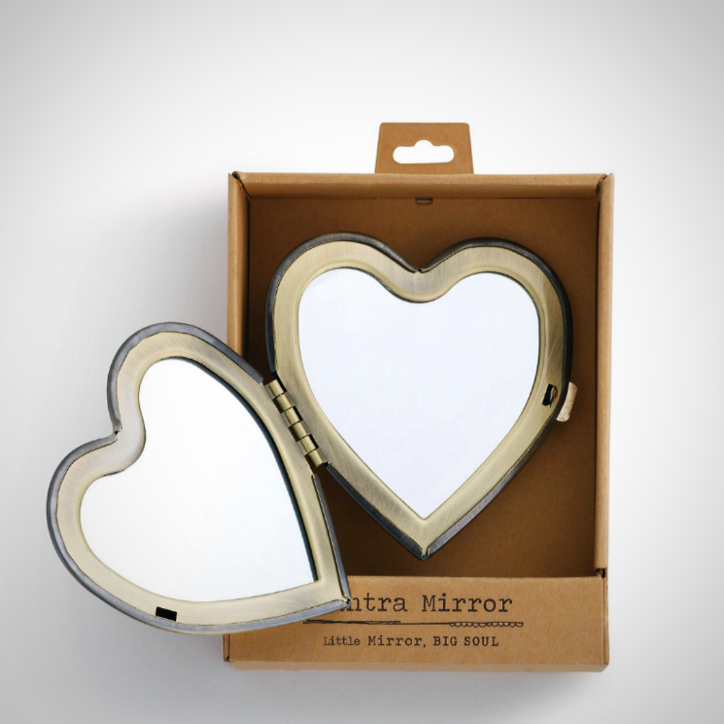 GRATEFUL HEART Compact Mirror