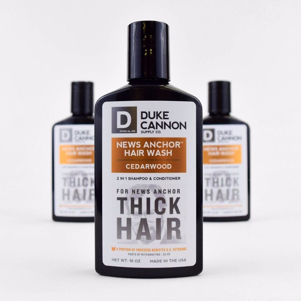News Anchor Hair Wash - Cedarwood