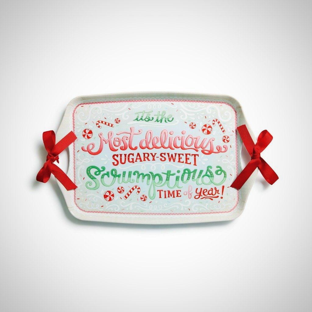 Sugary Sweet Melamine Tray - Marshmallow World Collection