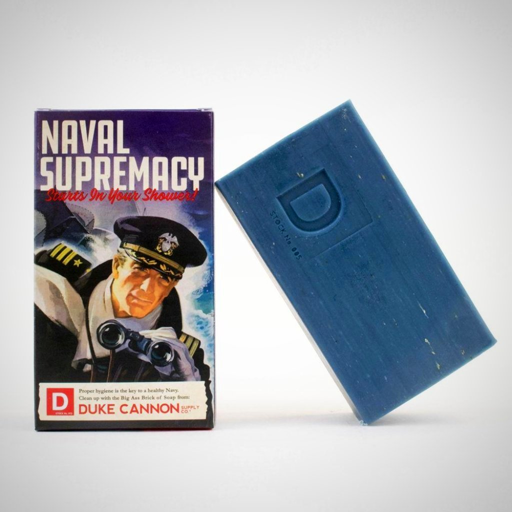 NAVAL SUPREMACY - WWII Era Big A** Brick of Soap