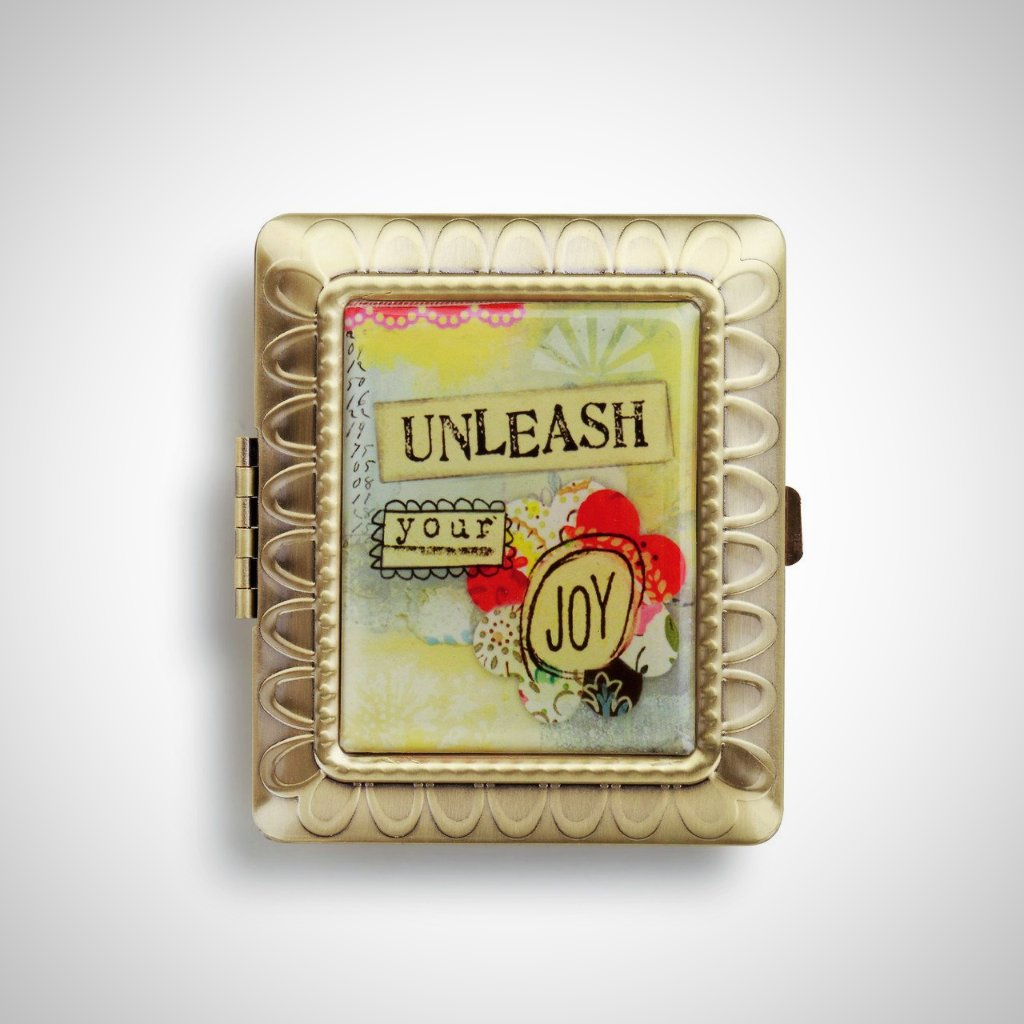Unleash Your Joy Compact Mirror