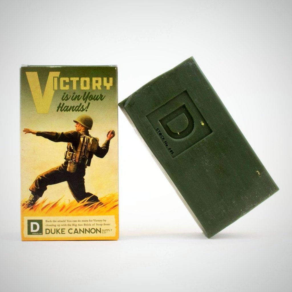 VICTORY - WWII Era Big A** Brick of Soap
