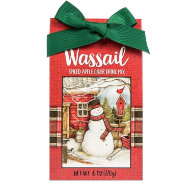 Winter Snowman Wassail (Spiced Apple Cider)