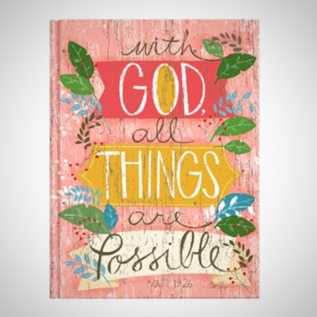 "Casebound Journal - ""With God All Things Are Possible"""