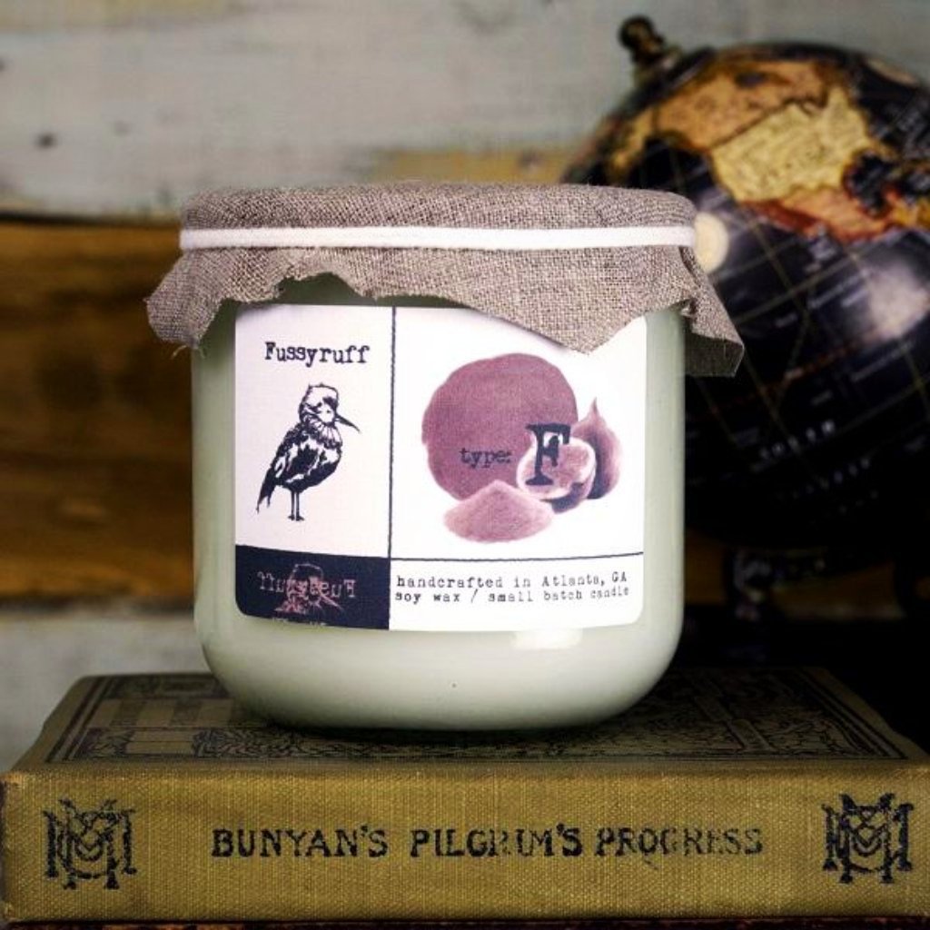 Fussyruff Candle Type F - Sandalwood, Fig & Brown Sugar