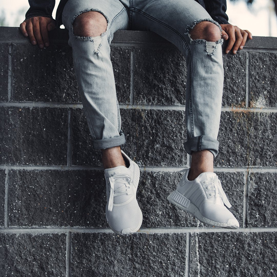 quality design fd83f 7d0c5 ... for mixing lighter pants with darker-coloured NMDs that don t look so  good close together. Stay away from boxier fits and keep it tight.