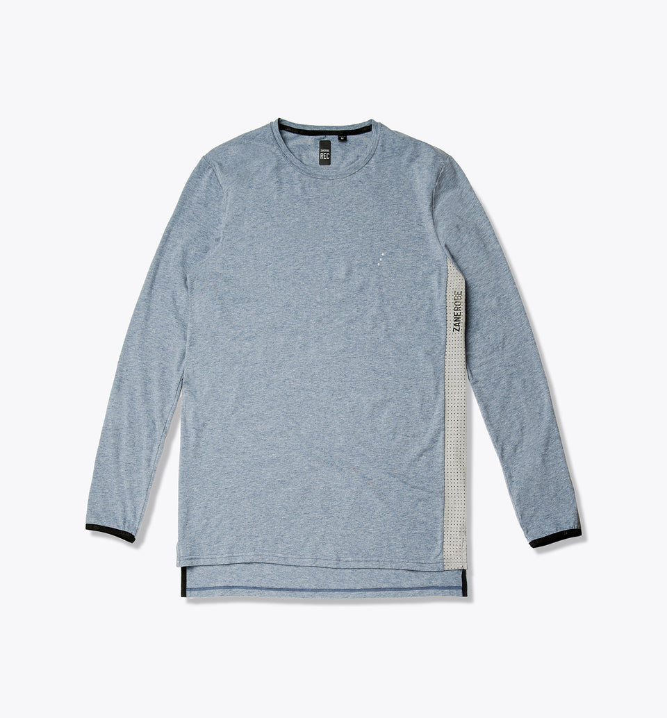 Tech Flintlock LS Tee Static Blue - Sale