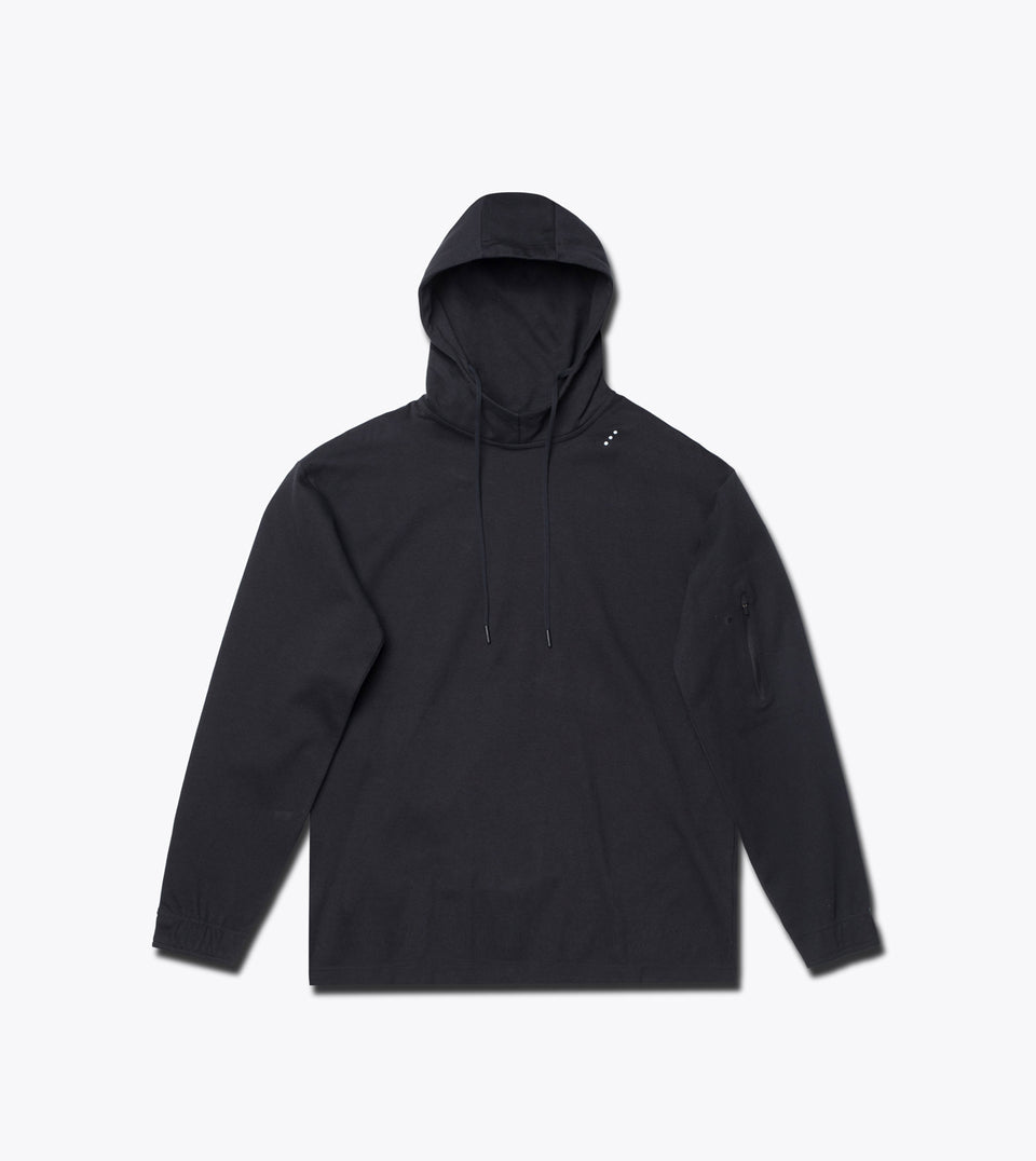 Tech Hood Sweat Black