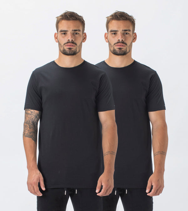 2 Pack Flintlock Tee Black/Black