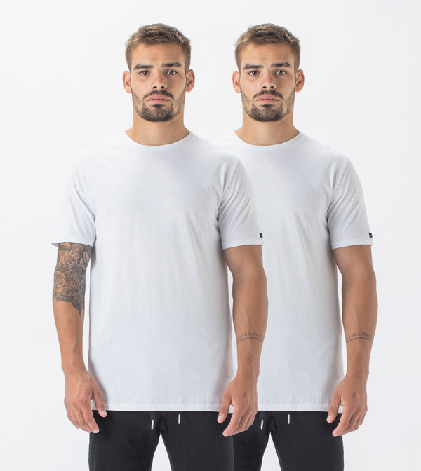 2 Pack Flintlock Tee White/White