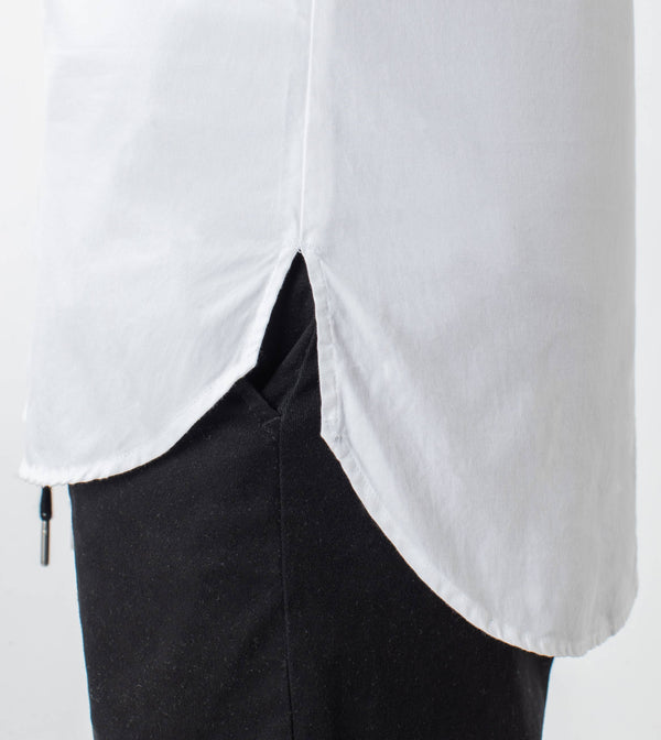 7 Foot LS Oxford Shirt White