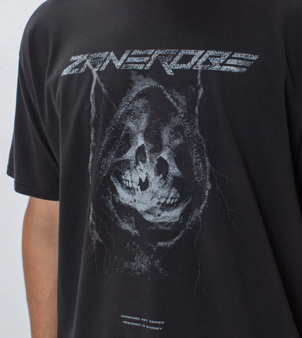 Afterlife Box Tee GD Black