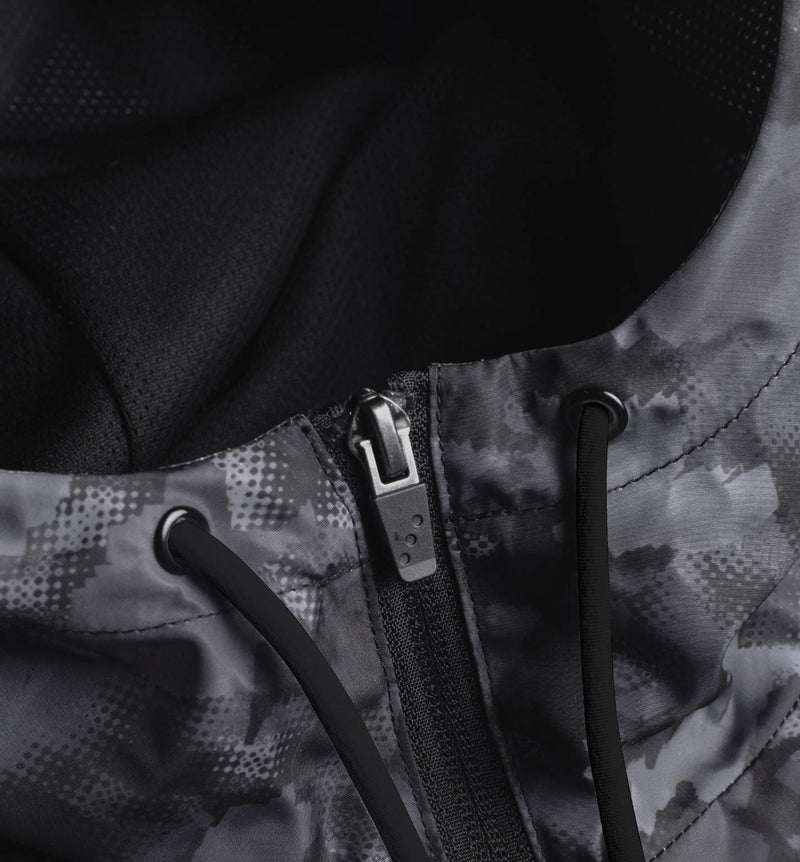 Air Spray Jacket Black Camo