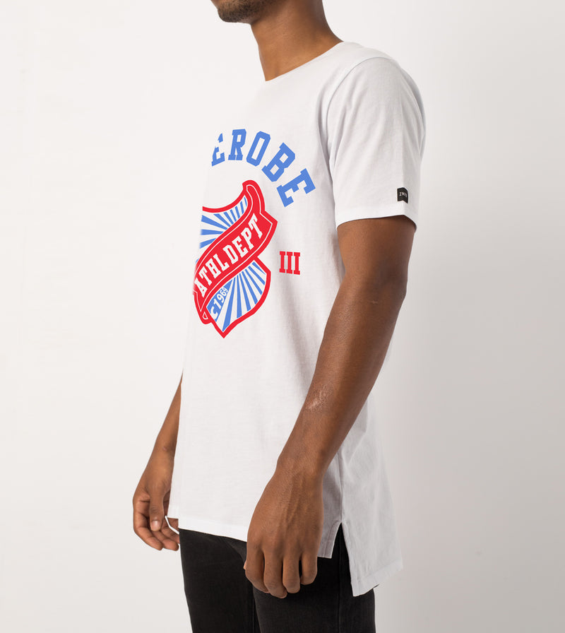 Athletic Dept Flintlock Tee White